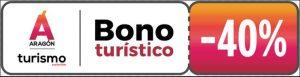 40% dto Bonos Turísticos Aragón